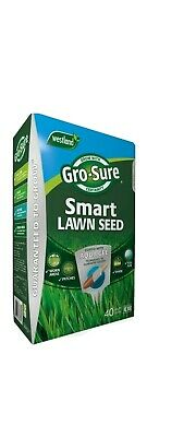 £22.99 • Buy Westland Gro-Sure Smart Lawn Grass Seed 40m² Coverage 1.6kg