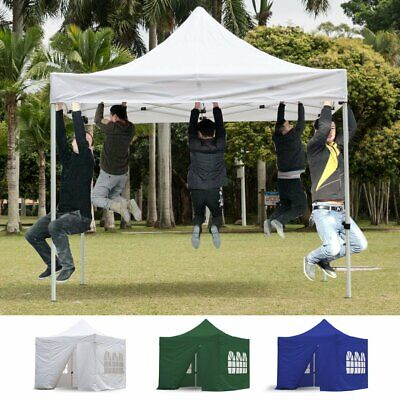 Garden Gazebo Cotton Canvas Sun/Rain Shelter Canopy Gazebo For Bell Tent Camping • 185.99£