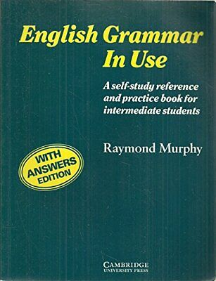 £3.29 • Buy English Grammar In Use: With Answers: A Self-study Reference And Practice Book F