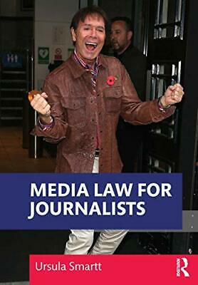 £28.73 • Buy Media Law For Journalists By Ursula Smartt New Book