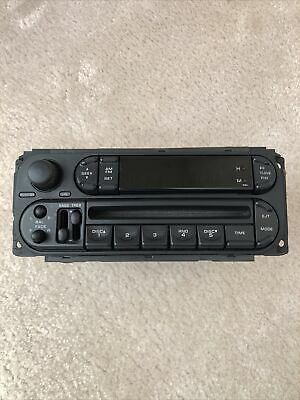 $39.44 • Buy 2002-2007 Chrysler Jeep Dodge Radio Stereo Unit AM FM CD Player FACTORY OEM