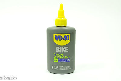 $ CDN13.13 • Buy WD40 Bicycle Chain Lubricant Dry Conditions Bike Lube 4oz Drip Bottle WD-40