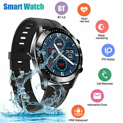 $35.98 • Buy Waterproof Smart Watch Heart Rate Blood Oxygen Monitor For IOS Android IPhone