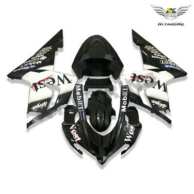 $469.99 • Buy WO Fairing Injection Molded Plastic Fit For Kawasaki Ninja 2004-2005 ZX10R X012