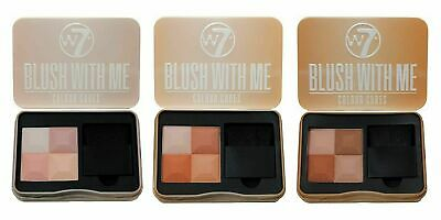 $9.86 • Buy W7 Blush With Me Color Cubes Blusher Palette 8.5g SEALED - Various Shades