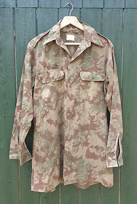 £39.99 • Buy South African Nutria Police S.a.p Camouflage Long Sleeved Shirt - Medium