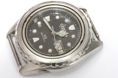 $ CDN43.31 • Buy Citizen Diver 4-S80440HSB 8200 Automatic Watch For Repairs Or Parts       -12733