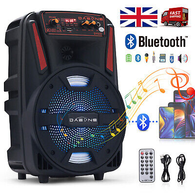 £45.99 • Buy 8  Portable FM Bluetooth Speaker Subwoofer Heavy Bass Sound System Party 1000W