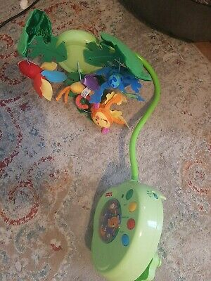 £10 • Buy Fisher Price Rainforest Cot Mobile