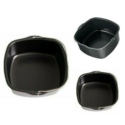 AU25.02 • Buy 1x Air Fryer Accessories Black Basket Baking Barbecue-Pan For Philips HD9232