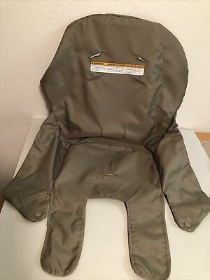 £14.19 • Buy Graco Contempo 2013 High Chair Seat Insert Cover Part Replacement Brown Back