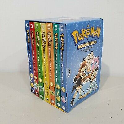 AU59.95 • Buy Pokemon Adventures Red & Blue Box Set: Volumes 1-7 (No Poster Included) Like NEW