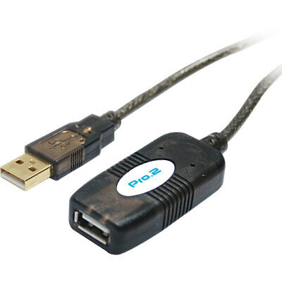 AU39.95 • Buy LC7208 Active Usb2.0 Extension - 10M Supports Data Transfer Rates Up To 480Mbps