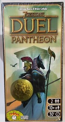 AU25.49 • Buy Repos Production 7 Wonders: Duel Pantheon Expansion Board Game New Sealed