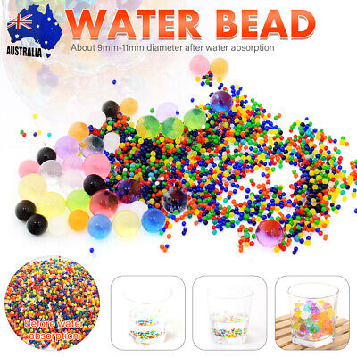 AU17.99 • Buy Up To 50000 Crystal Orbeez Soil Water Balls Jelly Gel Beads For Vase Wedding