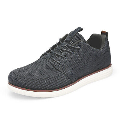 $16.99 • Buy Mens Knit Casual Shoes Comfort Lace Up Walking Shoes Fashion Sneakers