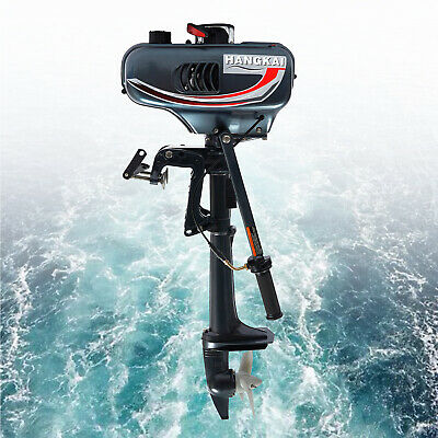 AU327 • Buy 2 Stroke 3.5HP Heavy Duty Outboard Motor Boat Engine+Water Cooling CDI System AU
