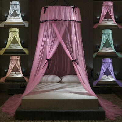 £14.49 • Buy Lace Princess Dome Mosquito Net Mesh Bed Canopy Bedroom Home Fly Insect Protect