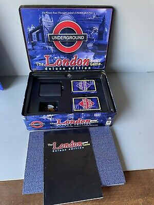 £12.99 • Buy The London Underground Board Game Deluxe Edition By Toy Brokers Rare