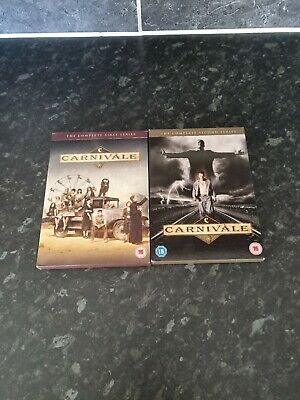 £8.99 • Buy Carnivale Complete Series 1 And 2