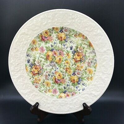 $ CDN22.51 • Buy Vintage Royal Winton Grimwades BEDALE Chintz 9  Plate With Wedgwood Border