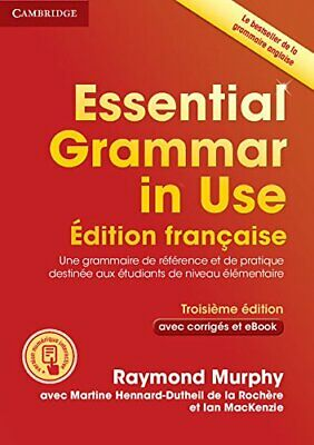 £29.70 • Buy Essential Grammar In Use Book With An By Raymond Murphy Martine Hennard New Book