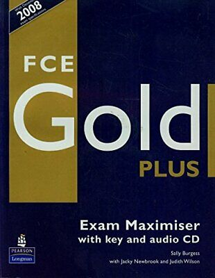 £18.95 • Buy FCE Gold Plus Maximiser And CD And Key Pack By Sally Burgess New Book