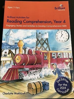 £12.99 • Buy Brilliant Activities For Reading Comprehension, Year 4, Makhlouf, Charlotte
