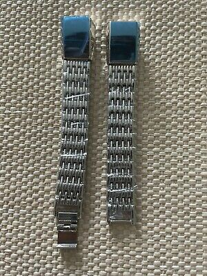 AU20.70 • Buy Bayite Fitbit Alta Silver Metal Replacement Band NEW In Box Adj Magnetic Fit