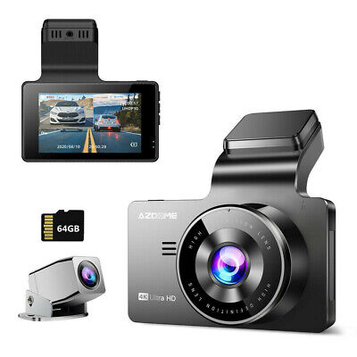 AU85.99 • Buy AZDOME True 4K Dash Cam Ultra HD 3840×2160P Car DVR Camera WIFI Video Recorder