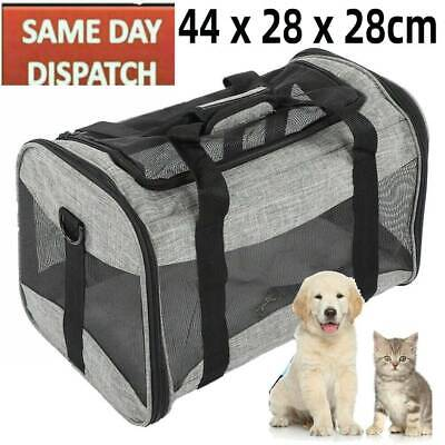 £27.37 • Buy Fabric Dog Crate Cat Puppy Pet Carrier Travel Portable Kennel Cage House Easipet