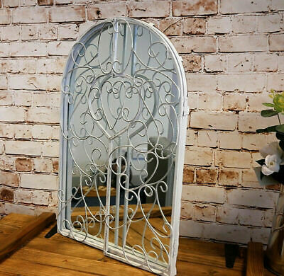 £44.54 • Buy Large Arched Window Shape Arch Mirror Gothic Vintage Indoor Outdoor Wall Mount