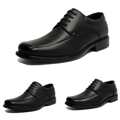 $17.66 • Buy Mens Black Dress Shoes Formal Casual Shoes Wedding Shoes Size US 6.5-13
