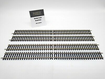 £20.99 • Buy Hornby Track R601 Double Straight (4 Pieces) - New