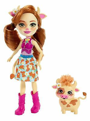 £7.99 • Buy Enchantimals Cailey Cow & Curdle Figure Kids Girls Play Set