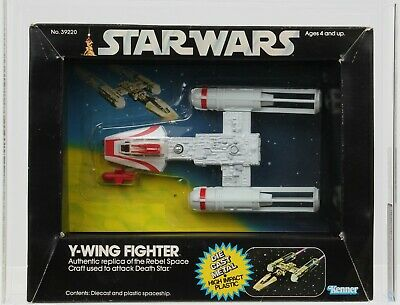 $ CDN738.07 • Buy Star Wars 1979 Vintage Kenner Diecast Y-Wing Fighter MISB AFA 85