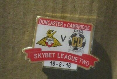 £5.50 • Buy Cambridge United  Limited Edition Coloured League Two 2016  Badge