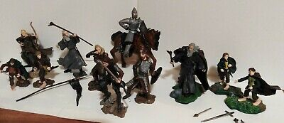 £24.99 • Buy Lord Of The Rings Assortment Lot Bundle - Gandalf Etc - Play Along (11 Figures)