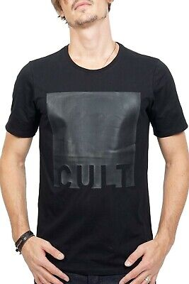 £49.52 • Buy Cult Of Individuality Cult Rubber Print Tee Men's Shirts Size M
