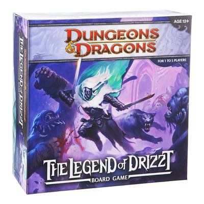AU99.99 • Buy Dungeons & Dragons The Legend Of Drizzt Board Game