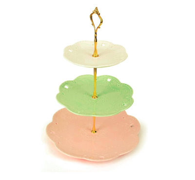 £5.50 • Buy GOLD Cake Stand Fitting, Afternoon Tea, Wedding, Party, Tableware DIY(NO Plates)