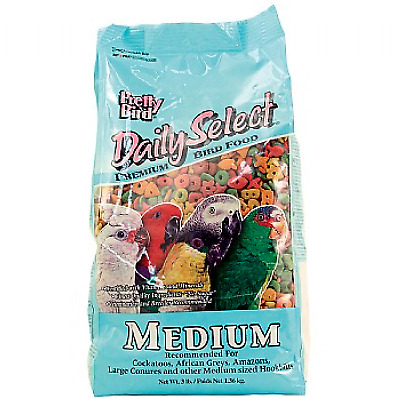 Pretty Bird Daily Select Medium Complete Parrot Food - 3lb • 16.99£