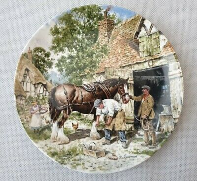 £7.99 • Buy Wedgwood Life On The Farm Collectors Plate Issue 5 Blacksmith Forge John Chapman