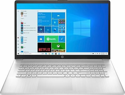 """View Details HP - 17.3"""" Laptop - Intel Core I3 - 8GB Memory - 1TB HDD - Natural Silver • 499.99$"""
