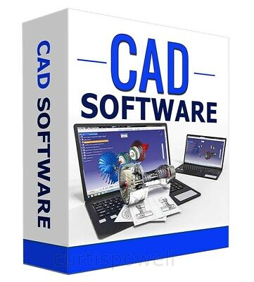 3D CAD Computer Aided Design Full Software Package For PC + Mac OSX • 14.97£