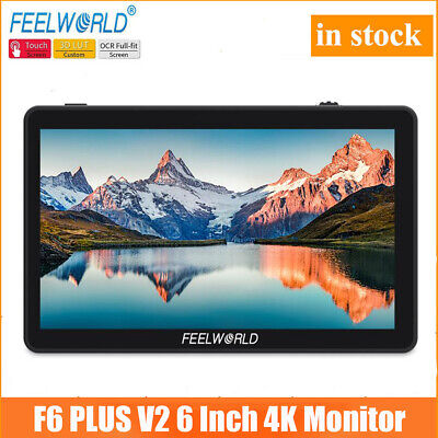 AU191.92 • Buy US FEELWORLD F6 PLUS Monitor 5.5  Inch 3D LUT 4K HDMI Video On Camera For DSLR