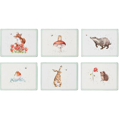 £21.35 • Buy Wrendale Designs Bee Placemats Bumblebees Animals Cork Backed Table Mats