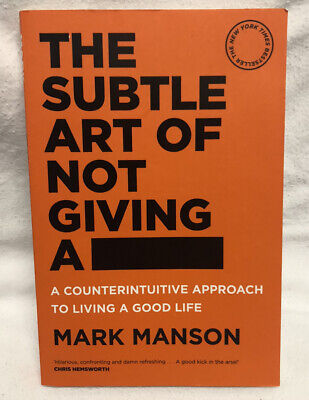 AU22.95 • Buy The Subtle Art Of Not Giving A Fck F*ck By Mark Manson Paperback.