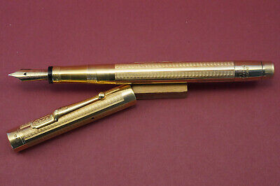 $1899 • Buy EXCEPTIONAL  SWAN MABIE TODD 18 Ct Solid Gold Fountain Pen  - MINT