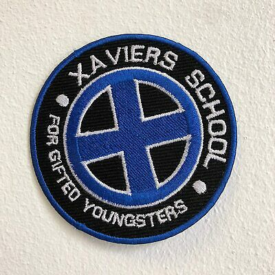 £2.24 • Buy Xaviers School Gifted Youngsters X Men Iron On Sew On Embroidered Patch